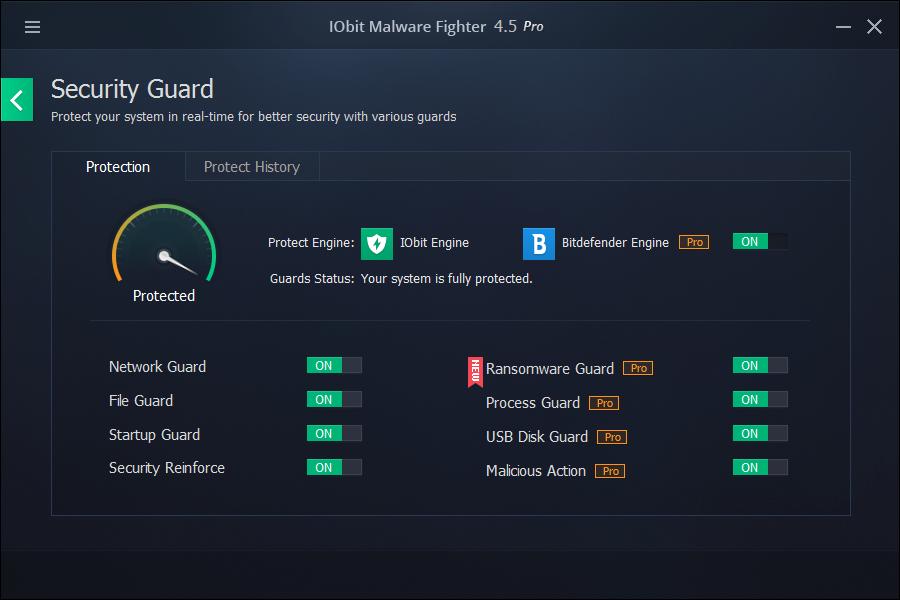 uninstall IObit Malware Fighter