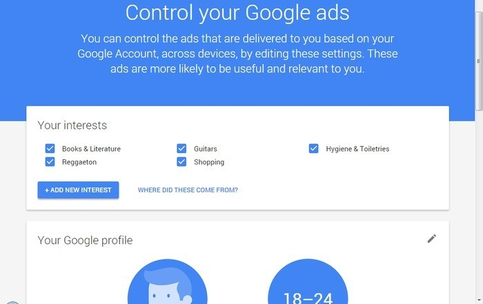 Google-Ads-Settings