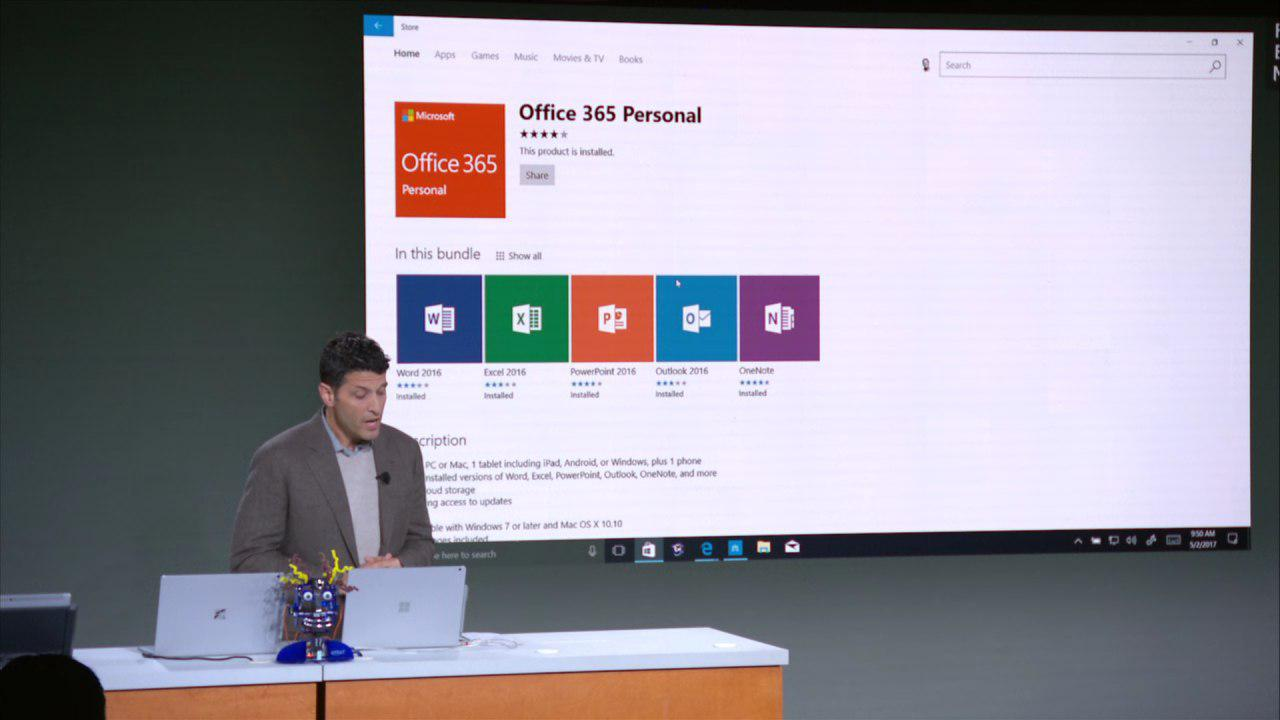 Microsoft Office in Windows Store