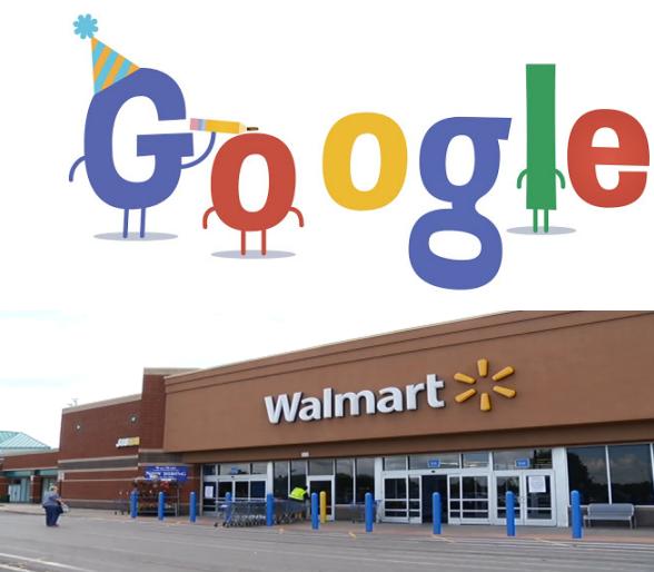 Google And Walmart