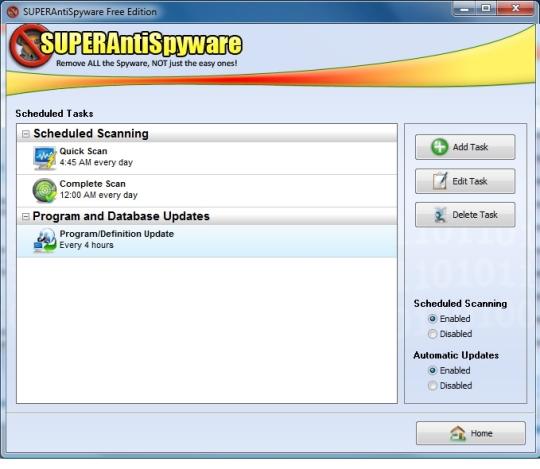 uninstall SuperAntiSpyware