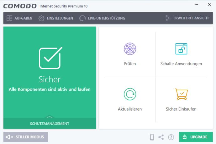 uninstall COMODO Internet Security