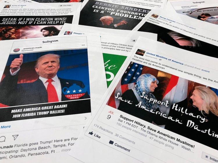 Facebook Twitter Political Ads